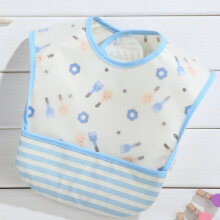 [COZIME] Waterproof Baby Drool Bibs Wash Free Pure Cotton Bib For Drooling Feeding Baby Other1