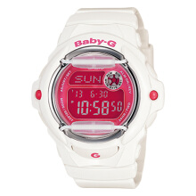 Casio Baby-G BG-169R-7DDR Water Resistant 200M Resin Band [BG-169R-7DDR] - White