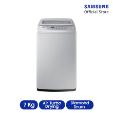 SAMSUNG Mesin Cuci Top Loading 7KG WA70H4000SG/SE - grey