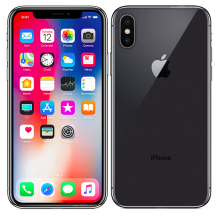 Apple iPhone X 256GB- Silver/Space Gray