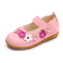 SiYing sweet girl tendon soft bottom non-slip princess shoes single shoes