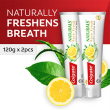 COLGATE Naturals Pure Fresh 120gr Twin Pack