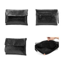 MWS MAN CLUTCH LEATHER MB0882 Black