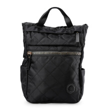 HUER Betty Quilted Backpack 9476-002 Black