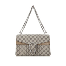 Pre-Owned Gucci Dionysus GG Supreme Small Shoulder Bag