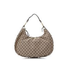 Pre-Owned Gucci GG Interlocking Hobo Bag Shoulder
