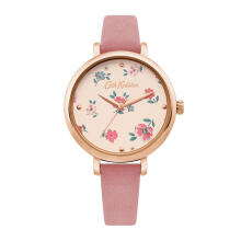 Cath Kidston Pink Floral Alloy Ckl079Prg Women Watch