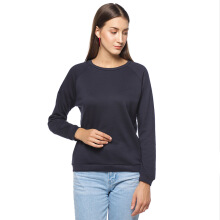 Factory Outlet Sweater Raglan - Navy