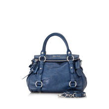 Pre-Owned Miu Miu Vitello Lux Bauletto Aperto