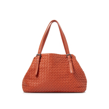 Pre-Owned Bottega Veneta Intrecciato Nappa Tote Shoulder