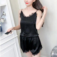 2019 newWomens Sexy Sling Sleepwear Shorts  Nightwear Sets _XL