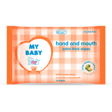 MY BABY Baby Wipes Hand & Mouth - 10s