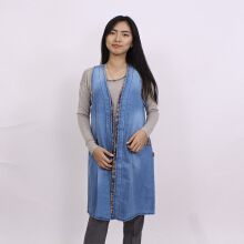 ADORE Cardigan Tribal Light Blue All Size