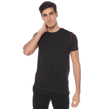 STYLEBASICS Men Sports Innerwear T-Shirt (Single) - Black/Maroon