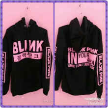 Sweater Hoodie Blink Blackpink In Your Area - Black - All Size