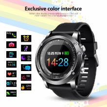 Smart watch T2 IP68 Waterproof Heart Rate Blood oxygen monitoring Smartwatch Outdoor Sport Bluetooth Fitness bracelet Blue