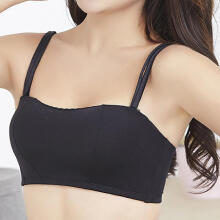 Woman Sexy Brassiere Collar And Shoulder Strap Bras Wrap Chest  Thin Underwear
