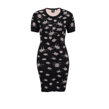 Pre-Owned Alexander McQueen Spider T-Shirt Dress
