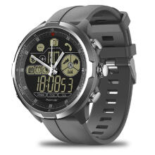 Zeblaze VIBE 4 Hybrid Flagship Rugged Smartwatch 50M Waterproof 33-month Standby Time 24h All-Weather Monitoring Smart Watch Black