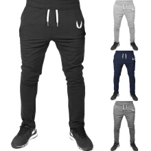 ATA FUN TR-05 4 Colors Fitness Bodybuilding Man Sports Joggers Men's Pant Fashion Trousers Sweatpants Casual Pant Black XL