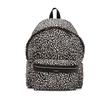 Pre-Owned Saint Laurent Babycat Print Backpack