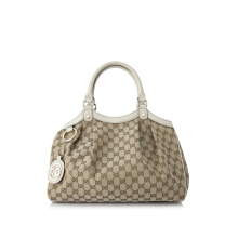 Pre-Owned Gucci GG Canvas Shoulder Bag