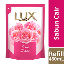 LUX Body Wash Soft Touch Refill 450ml