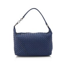 Pre-Owned Bottega Veneta Intrecciato Nappa Brunito Loop Handle Bag