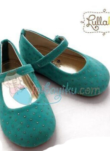 Lullabee Baby Shoes Kaylee Color Tosca Size 22