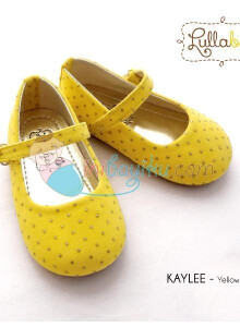 Lullabee Baby Shoes Kaylee Color Yellow Size 24
