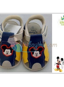 Disney Baby Shoes Myron Mickey Mouse Color Yellow Size 22