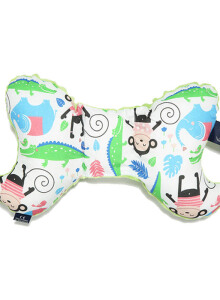 LA MILLOU Travel Pillow Angel Wings - Happy Monkey Green AW081G