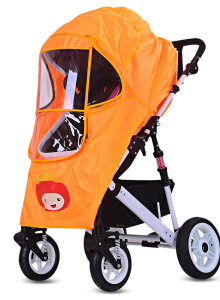 Aosen  Baby Stroller Pushchair Pram Accessories Rain-proof Wind-proof Rain Cover for Outdoor Travel