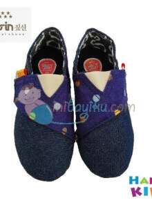 Happy Kids Baby Shoes Arvel Size 24 Color Navy Blue