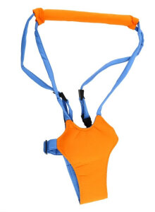[COZIME] Baby Toddler Kid Harness Bouncer Jumper Learn To Moon Walk Walker Assistant Orange
