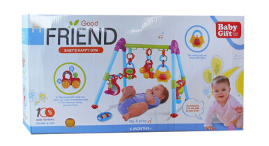 BABY HAPPY PLAYGYM BABY GIFT MAINAN BAYI 3327