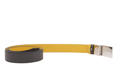 Fendi Reversible Leather Belt