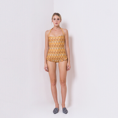 IKAT Indonesia Prisha Swimwear - Yellow S