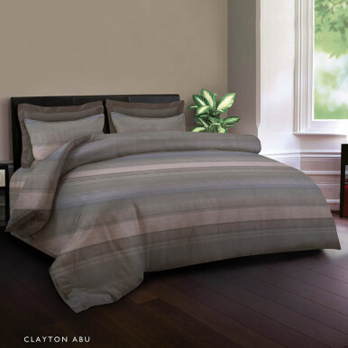 KING RABBIT Bed Cover Single - Clayton Abu / 140x230 cm