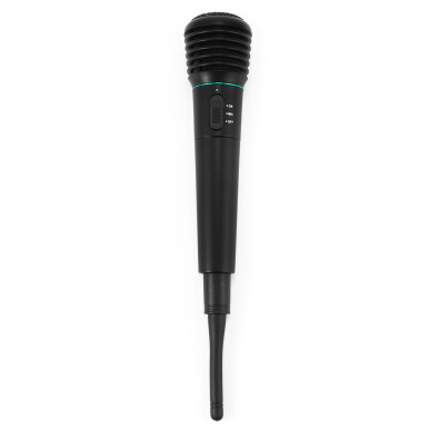 WM308 2 in 1 Wired Wireless Handheld Dynamic Microphone with Receiver for Karaoke