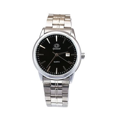 Gucamel B006 Men Quartz Watch Stainless Steel Band Calendar Men Wristwatch