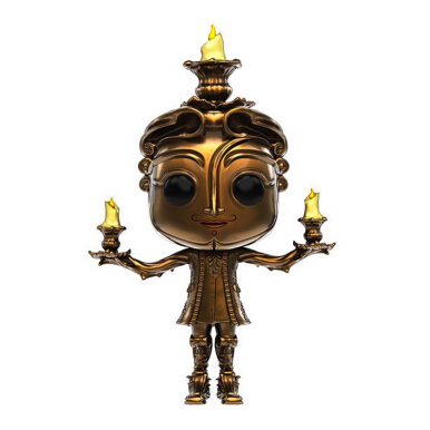 FUNKO Pop! Disney : Beauty and the Beast Live Action - Lumiere 12319