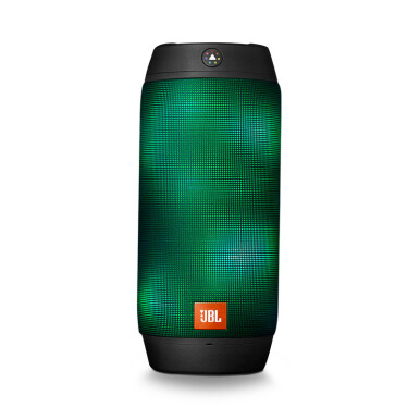 JBL Pulse II Splashproof Bluetooth Speaker with LED - Black