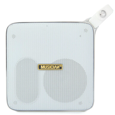 F7 Multifunctional Portable Mental Bluetooth Speaker (White)