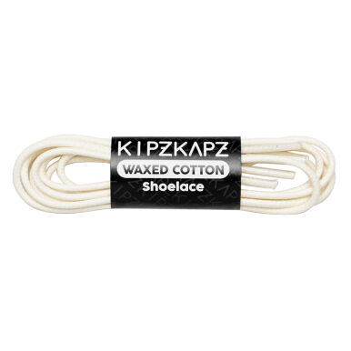 KIPZKAPZ Waxed Cotton Round - White [3mm] W3-100