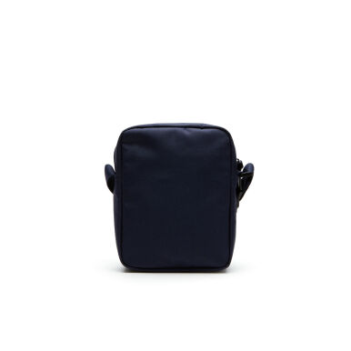 LACOSTE Men's Neoroc Canvas Vertical All Purpose Bag - Blue [One Size]