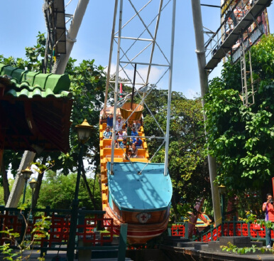 Dunia Fantasi Ancol (weekend) Value Rp 300.000