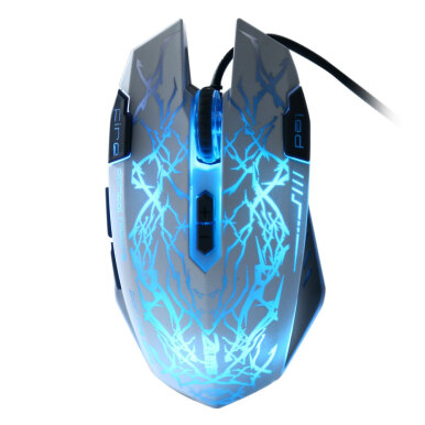 C - 17 2500 DPI Colorful USB Wired Gaming Mouse Support Button Programming Function