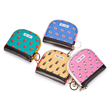 Guapabien Cute Patterns Mini Wallet Coin Purse for Girls