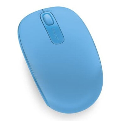 MICROSOFT Wireless Mobile Mouse 1850 - Blue Cyan